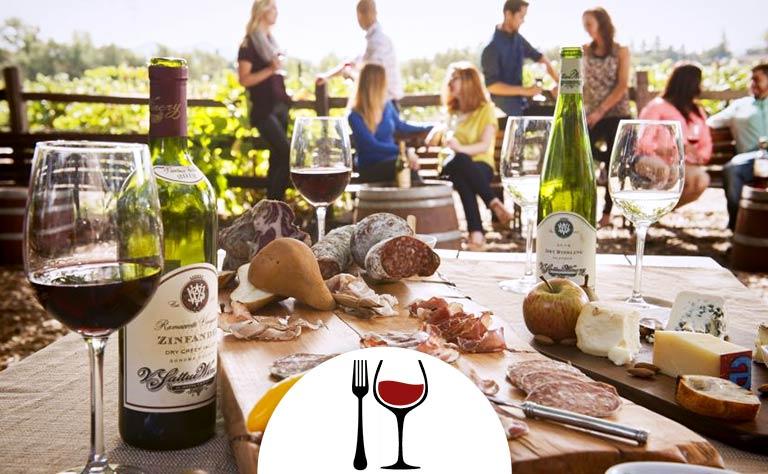 Napa Tour - Picnic Lunch at V. Sattui Winery